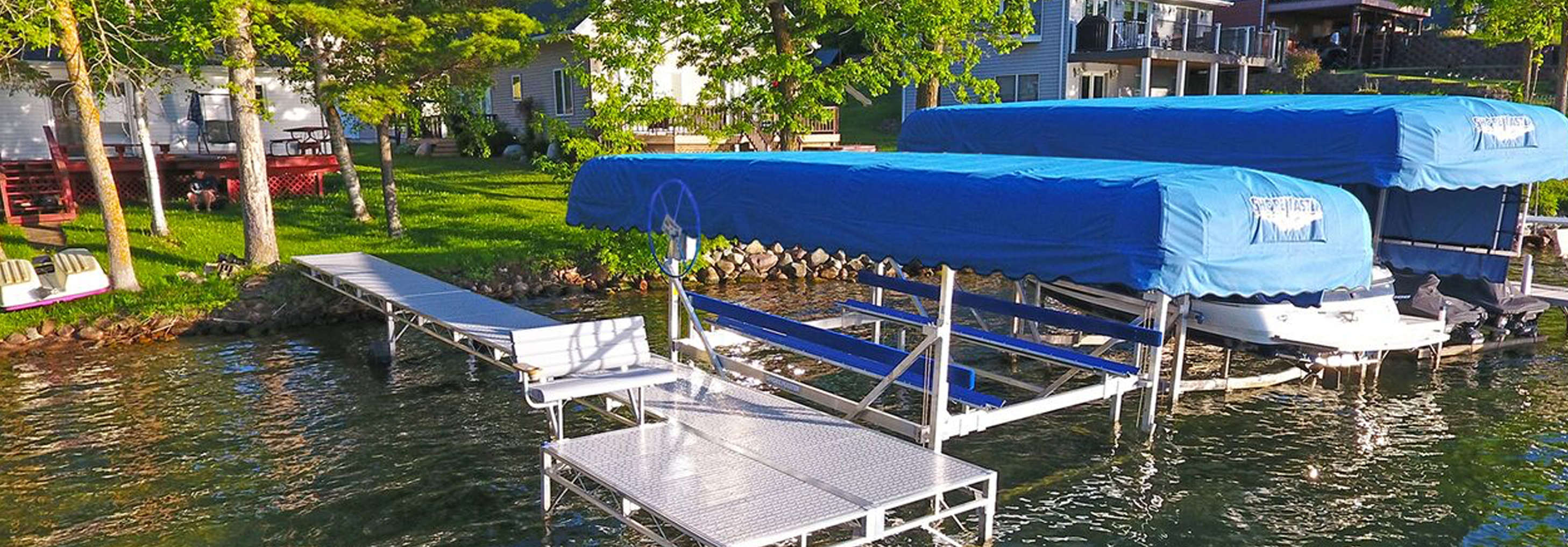 Versatile boat lifts for any watercraft
