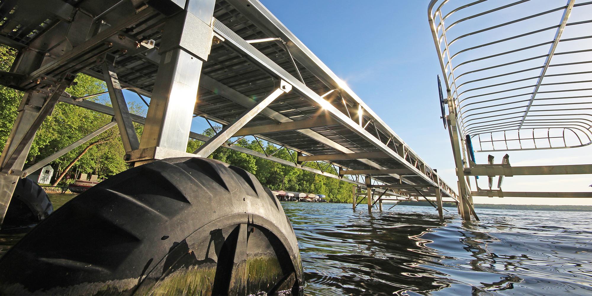 Wheel-In Dock Systems