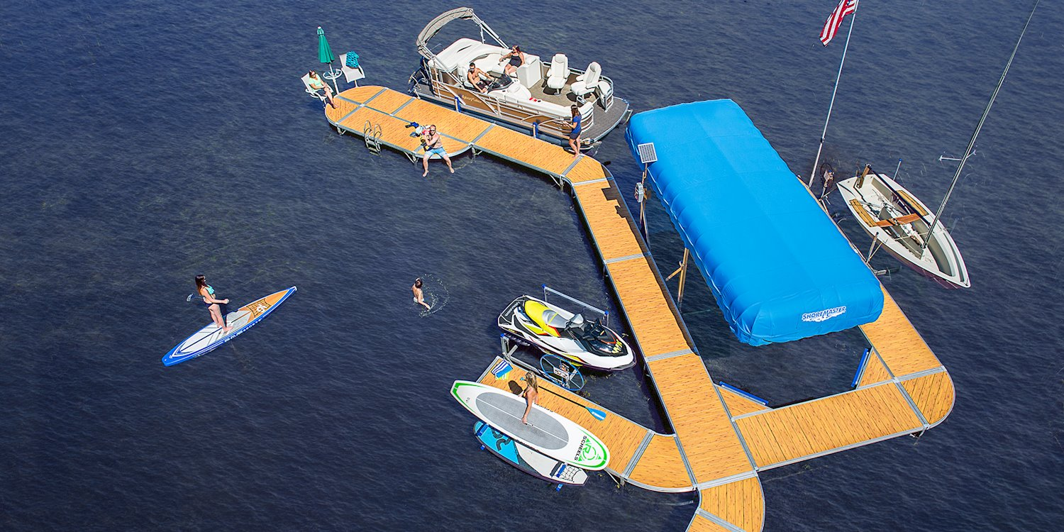 High Quality Aluminum Boat Dock Systems By Shoremaster