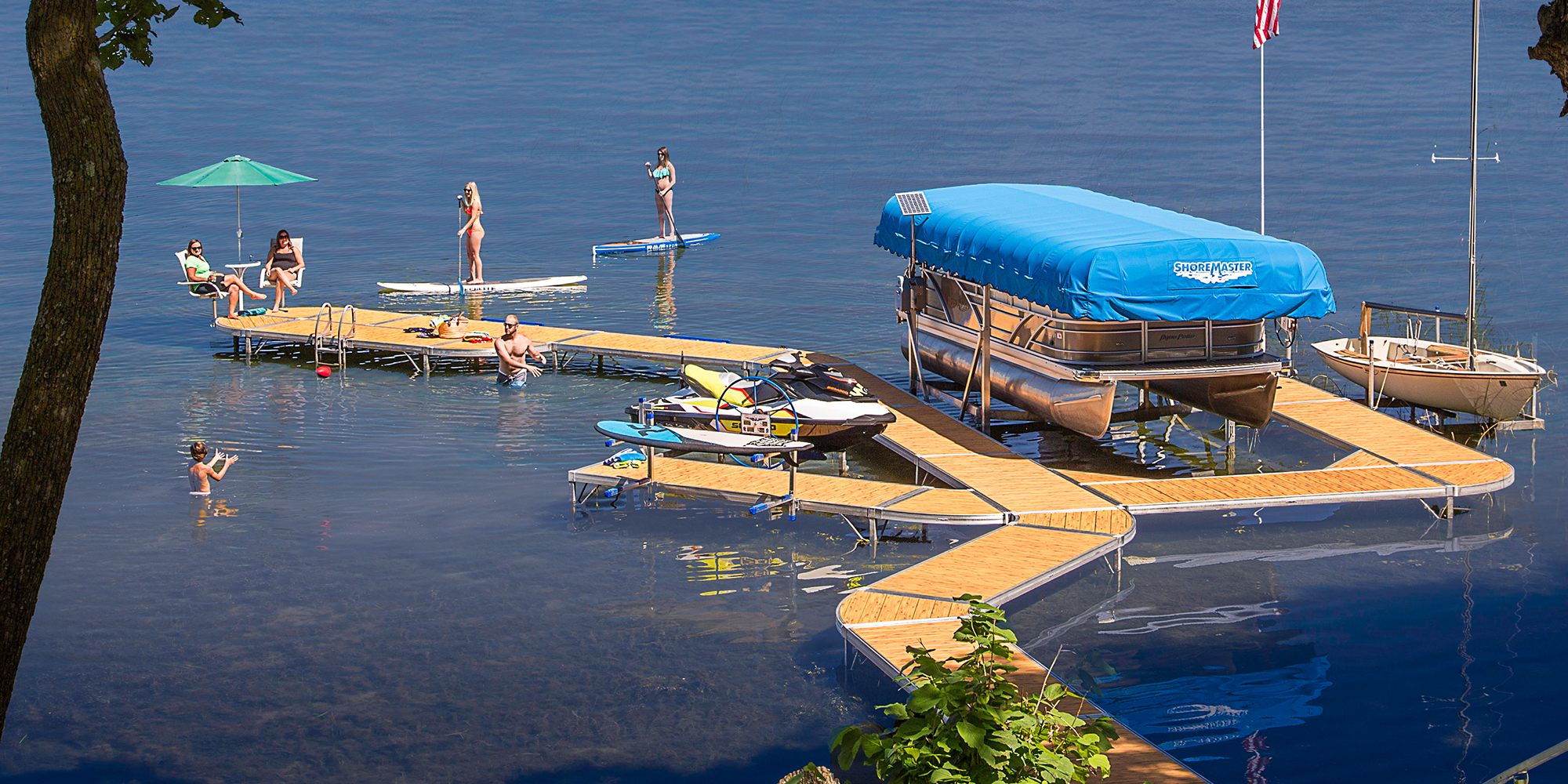 The most versatile waterfront system available