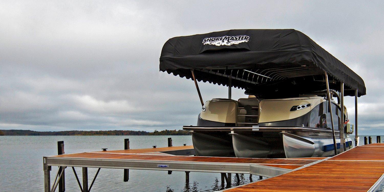 Pontoon Boat Lifts | ShoreMaster