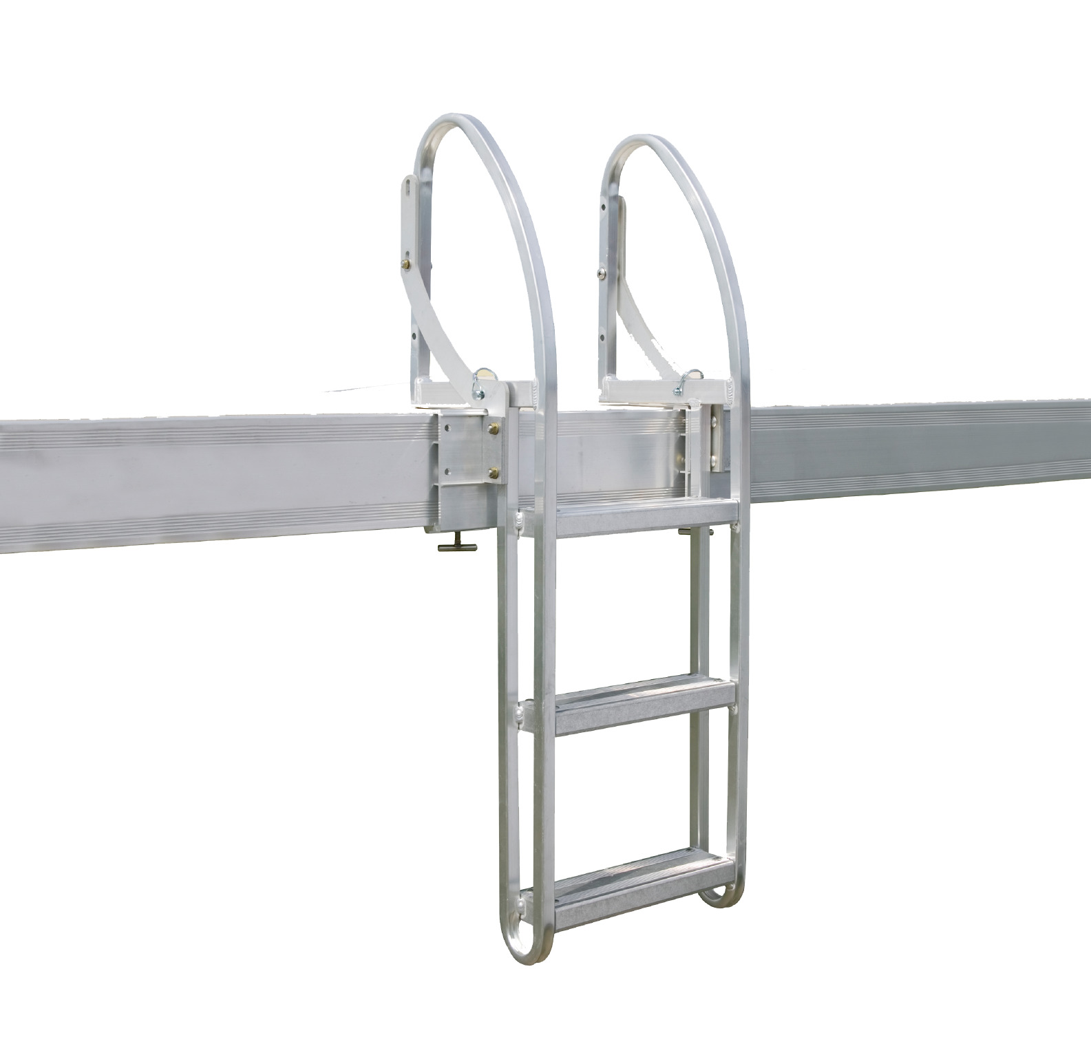 Pivoting Dock Ladder
