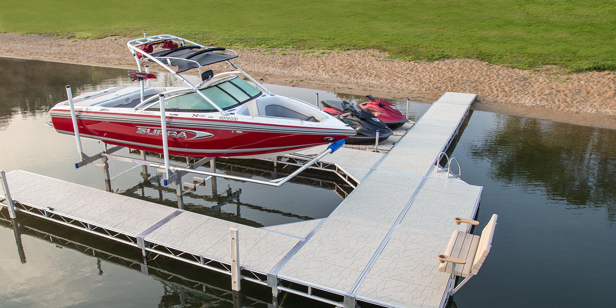 ShoreMaster Hydraulic Boat Lifts