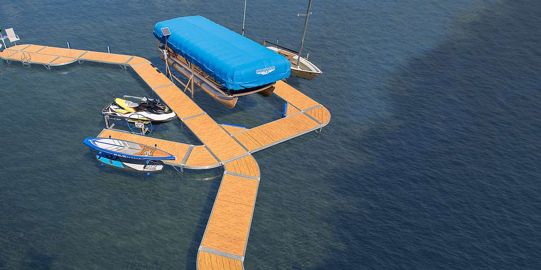 Personal Watercraft PWC Lift - Seadoo & Jet Ski Lift