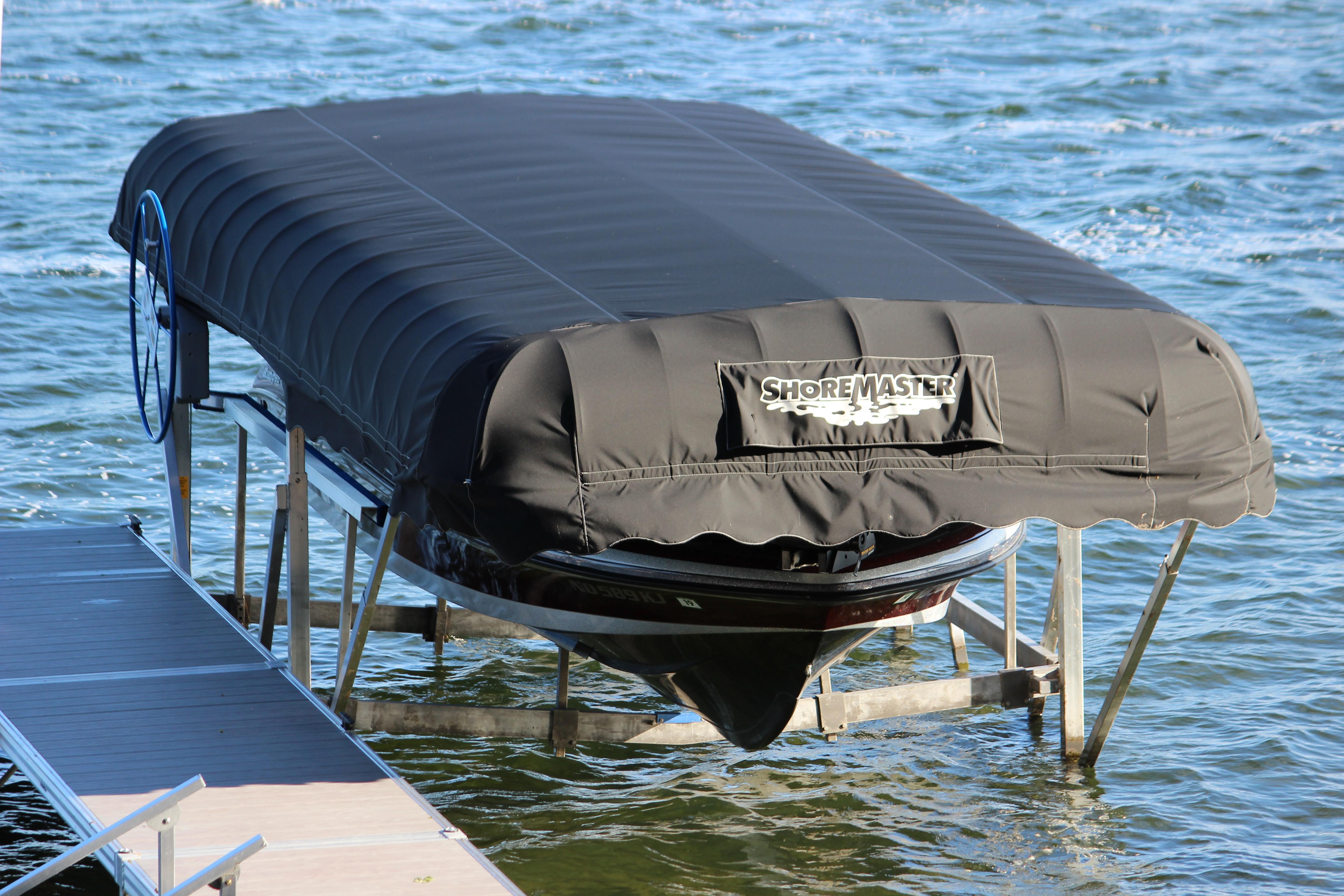 Boat Lift Canopy Systems | ShoreMaster