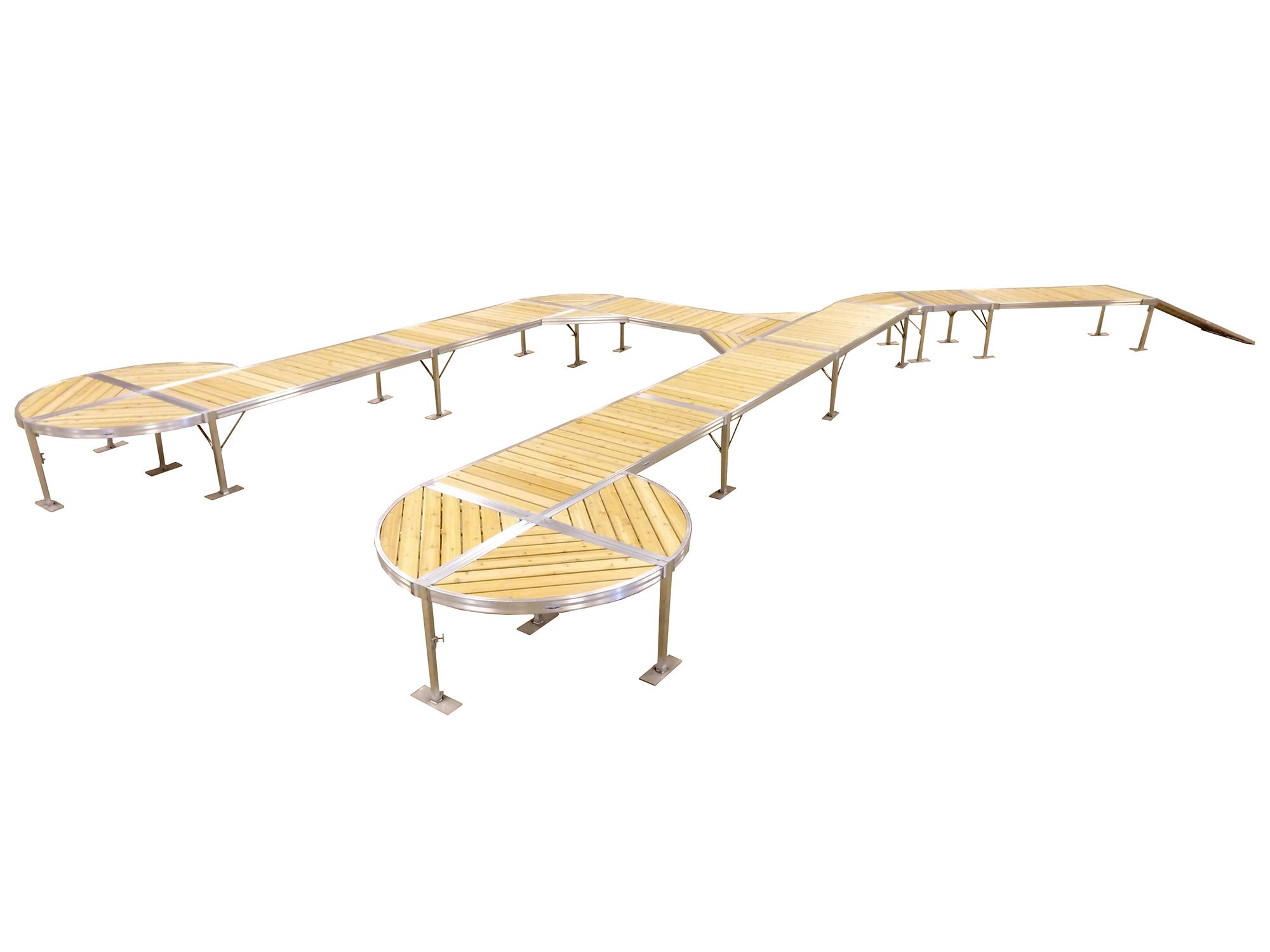 RS$ Curve Cedar Dock